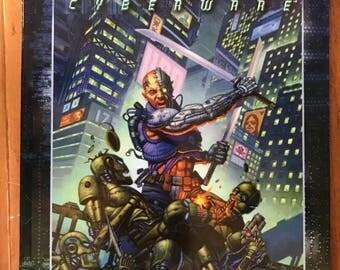Vintage Shadowrun Man & Machine Cyberware Fanpro Book 25001