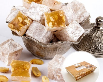 Peanut Turkish Delight ( Lokum ) (500 grams)