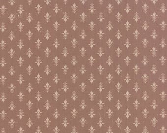 Moda KINDRED SPIRITS Quilt Fabric 1/2 Yard By Bunny Hill Designs - Brown 2893 23