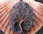 Oxidized Copper Tree of L...