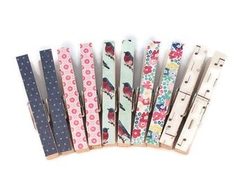 Decorative Magnetic Clothespins, Refrigerator Magnets, Bag Clips, Photo Clips, Clothespin Magnets, Office Decor, Dorm Decor, Fridge Magnets