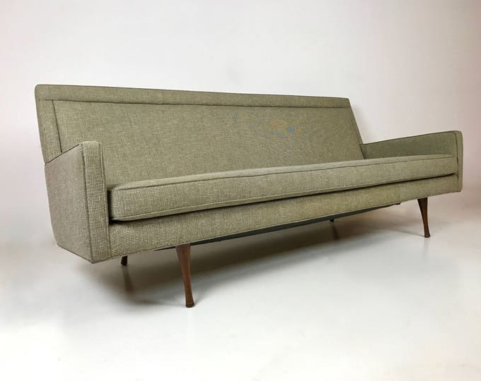 Rare Mid Century Modern PAUL MCCOBB Symmetric Group Sofa Original TWEED Fabric Mint Condition