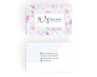 Premade Business Card, Business Card Template, Custom business card design, Printable Business Card
