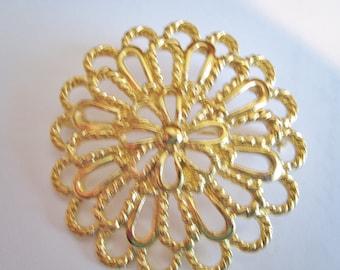 Napier Gold Tone Pin