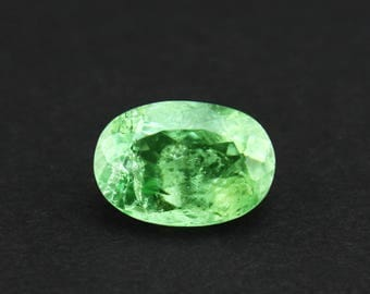 2.90 cts Natural Tourmaline Grape Green Oval shape loose gemstone Free Shipping