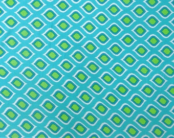 """Dress Decorative Fabric, Quilt Material, Blue Fabric, Home Accessories, 44"""" Inch Cotton Fabric By The Yard ZBC7999C"""