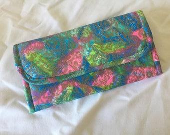 Accordion Wallet, Handmade Wallet, Lady's Wallet, Ladies Wallets