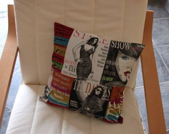 "Very original pillow "" page of mode(fashion) """