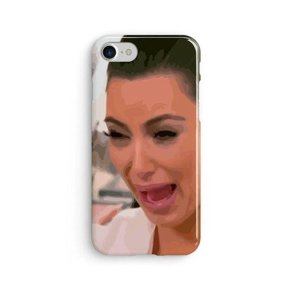 Kim crying illustration - iPhone 7 case, samsung s7 case, iphone 7 plus case, iphone se case 1P002