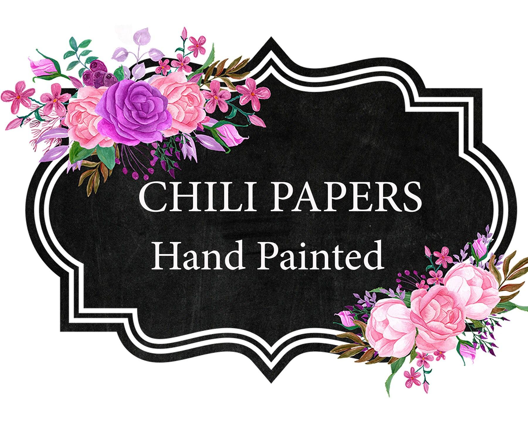 Floral Chalkboard Frame Clipart FLORAL FRAMES Floral Labels Clipart Flower Frame Invitation
