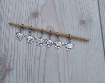 Stitch Markers, Mothers Day Gift, Knitting Accessories, Sheep Stitch Marker, Knitting Stitch Markers, Crochet Stitch Markers, Mothers Day