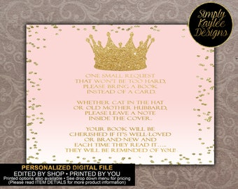 Princess Book Request Cards