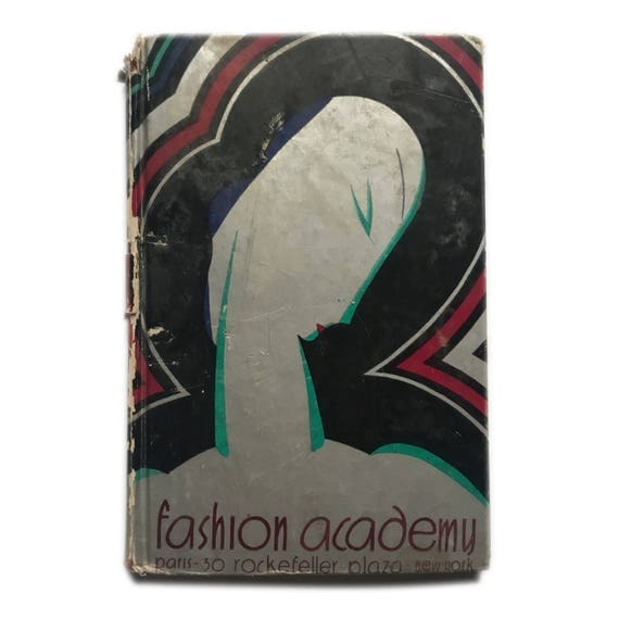 Brochure book for the Fashion Academy at Rockefeller Center, 1935.