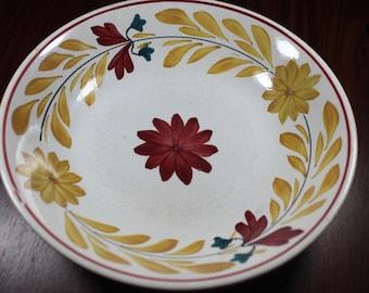 A Vintage Plate Societe Ceramique Maestricht Holland
