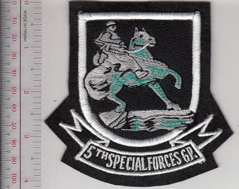 Green Beret US Army Afghanistan Horse Soldiers 5th Special Forces Group Airborne Operation Enduring Freedom 10.99