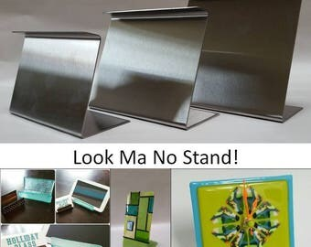 Look Ma No Stand! Fused Glass Slumping forms for clocks and more! Mini Standard Med 6x5x2.5