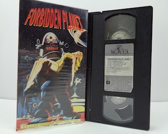 Forbidden planet VHS Tape