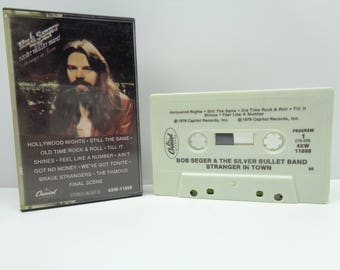 Bob Seger and the Silver Bullet Band Stranger in Town Cassette