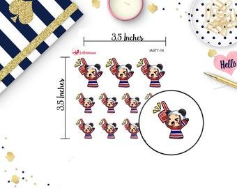 Sports MeiMei - Hockey MeiMei - Hockey Stickers - Sports Hockey - Hockey Game Stickers - Game Stickers - Game Planner Stickers