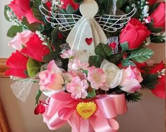 Valentines Cemetery Flower
