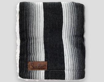 Onyx - Baby & Toddler Blanket (Grey)