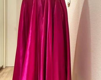 To die for, liquid silk pink skirt