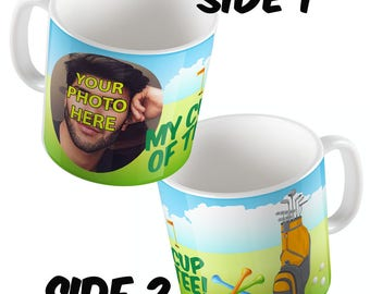 MY Cup of TEE Personalised Full Wrap around mug