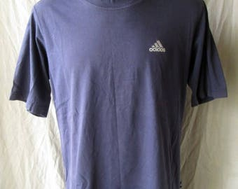Adidas Mens Cotton T-Shirt Size L Large Used Condition