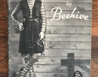 Styles by Beehive Pattern Booklet, Magazine, Vintage