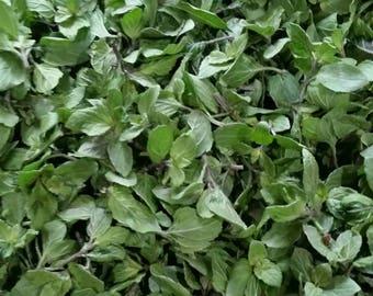 Organic Freeze Dried Chocolate Mint, Organic Loose Leaf Tea Herb, Herbal Tea Leaf, Organic Freeze Dried Herbs, Minty Tea, Chocolate Mint