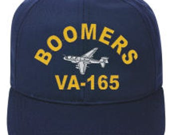 VA-165 BOOMERS A-6 Intruder Direct Embroidered Cap New