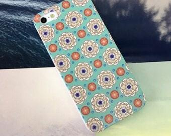 iPhone 7 Plus case Kaleidoscope Flowers iPhone 6S Plus case iPhone SE case Clear Samsung Galaxy S8 Plus case Note 5 case Galaxy S7 Edge case