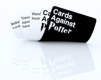 PRINTED Cards Against Potter - Harry Potter Edition Cards Against Humanity - Play these cards against muggles !