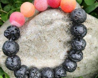 Lava stones bracelet