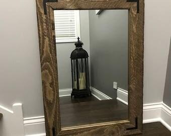 Reclaimed Wood Mirror, Old Mirror, Antique Mirror, Bathroom Mirrors, Wall Mirror, Floor Mirror, Framed Mirror, Mirrors, Rustic Decor, Gift