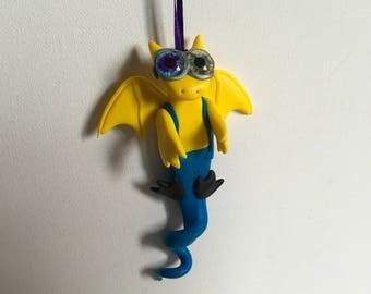 Hanging Odd Eyed Minion Dragon