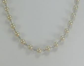 J-68 Beautiful  Vintage choker  beads