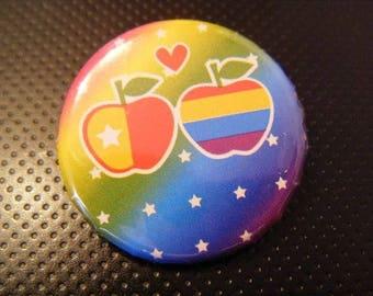 ♥ badge fruit apples ♥
