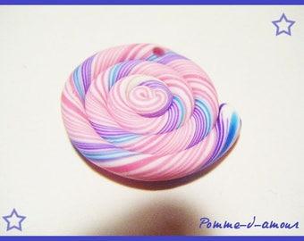 ♥ Pearl spiral polymer polymer ♥