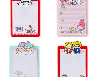 Sanrio Characters Mini Clip Board with Memo Pad