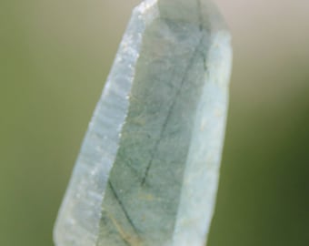 point with chlorite inclusions