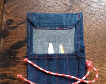 Lure Wallet 4 Pocket Denim