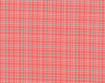Flower Mill Plaid Poppy by Corey Yoder of Moda Fabrics Fabric Yardage 20937 26