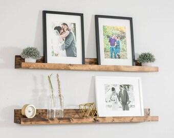 Picture Ledge Shelf, Wall Shelf, Nursery Shelf,  Picture Shelf, Ledge Shelf, Rustic Shelves, Nursery Shelf, Bookshelf