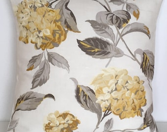 "1 x 16"" (40cm x 40cm)Laura Ashley Hydrangea Camomile Cushion Cover"