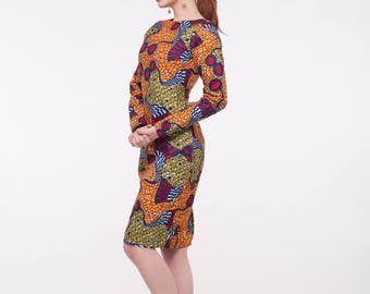 New In: African Print Esta Dress