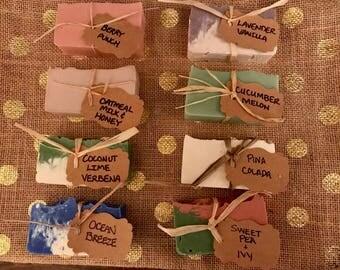Homemade soap (3 Bars)