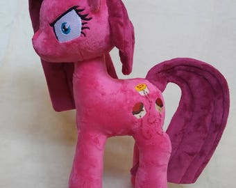 Pinkis Cupcake, Elements of Insanity, Pony Plush FREE priority US shipping