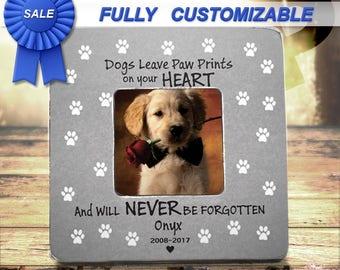 Pet Loss Gifts Pet Loss Frame Pet memorial Pet Bereavement Loss Of Dog Loss Of Cat Dog Memorial  Cat Memorial Frame Dog Sympathy Gift
