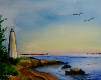 Lighthouse Landscape